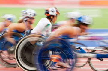 Paralympics Wheelchair Athletics